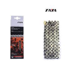 "Cadena fixie Taya, mod. 410HD. 1 Velocidad. 1/2x1/8"". 112 Links. 1020kg-m. Plata"