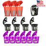 1-20pcs Refillable Reusable K-Cup K Carafe Coffee Filter Pod Fits Keurig 2.0 1.0