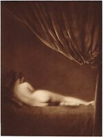 1920s Vintage Female German Nude Model Art Deco Schencker Photo Gravure Print a