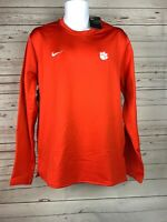 NWT Mens Nike Clemson Tigers Football On Field Modern Crew Size Large $75