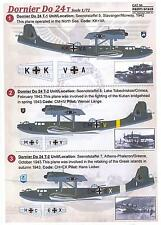 Print Scale Decals 1/72 DORNIER Do-24T German WWII Flying Boat