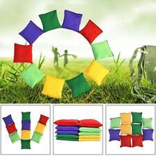10PCS Sandbags Bean Bags Kids Game Toss Toy Playing Gym Throwing Sandbag Ball*