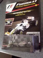 F1 formula 1 Car Collection Jenson Button Brawn GP 01 Issue #7 Mint & Unopened