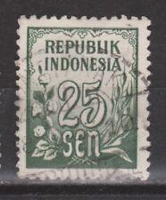 Indonesia 80 TOP CANCEL PONTIANAK 1951 Cijfer ; NU VEEL MEER INDONESIE