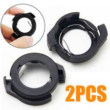 2pcs H7 LED Headlight Bulb Holder Adapters Base Kit For Ford KUGA VW passat b6