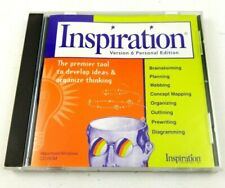 Inspiration Version 6 Personal Edition Cd-Rom Macintosh/Windows
