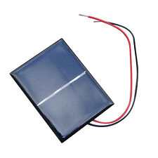2/4 X Lot Mini Solar Panel Charger for Small Power System Battery Cell 1.5V 0.6W
