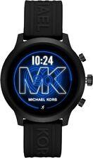 Michael Kors Men's MKT5072 Gen 4 MKGO 43mm Touchscreen Silicone Smartwatch