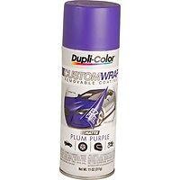 Dupli-Color Custom Wrap Removable Spray Paint EZ Peel purple (FREE SHIPPING)