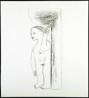 Kunst in der DDR, 1983. Lithographie von Karla WOISNITZA (*1952 D), handsigniert