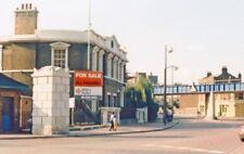 PHOTO  LONDON TOWER HAMLETS 1986 GARFORD STREET HERTSMERE ROAD WESTFERRY