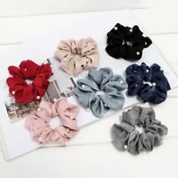 Women's Fashion Pearl Hair Rope Ponytail Ropes Scrunchy Holder Elastic Headwear