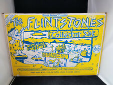 Flintstones Fred In Car Marx Toy 1991 Marx Playset Ruby Edition New