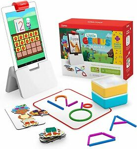 Osmo -Genius Starter Kit for FIRE Tablet + Early Math Adventure 6 Games Ages 3-5