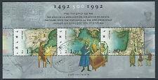 1992 ISRAELE USATO FOGLIETTO ESPULSIONE EBREI DALLA SPAGNA ANNULLO FDC - T23