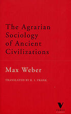 The Agrarian Sociology of Ancient Civilizations (Verso Classics) by Weber, Max