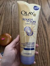 New listing Olay Touch of Sun Body Lotion plus sunless tanner for dry skin 6.7oz