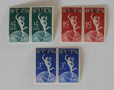 Universal Postal Union UPU 1949 SOUTH WEST AFRICA Set of 3 Pairs Mint NH SWA