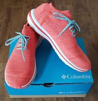 COLUMBIA Women's CHIMERA LACE Shoes Sneakers Zing/ Super Sonic Sz US 8/ UK 6