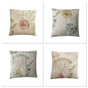 Iliv Hedgerow Country Journal Floral Linen Handmade Decorative cushion cover