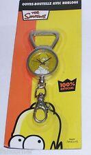 Simpsons Décapsuleur montre porte clefs Homer Officiel Homer bottle opener clock
