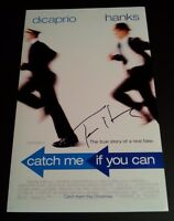 "TOM HANKS Authentic Hand-Signed ""CATCH ME IF YOU CAN"" 11x17 Photo"