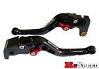 DUCATI M900/M1000 2000-2005 Short Adjustable Brake & Clutch CNC Levers Black