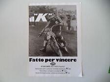 advertising Pubblicità 1977 MOTO KTM e 51° SIX DAYS ZELTWEG AUSTRIA