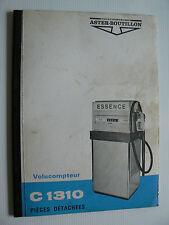 catalogue pompe a essence volucompteur ASTER BOUTILLON type C 1310