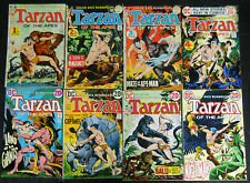 TARZAN OF THE APES D.C. 1972 #207 TO #258 COMP. KUBERT NEW AND SOME REPRINTS!!