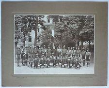 PHOTO ANCIENNE GROUPE SCOUT - J. DAVID & E. VALLOIS - CIRCA 1925/30 - SCOUTISME