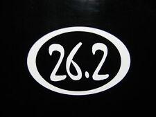 """26.2 Marathon Race Decal Sticker Runner Run *New 5"""""""
