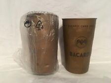 Bacardi Cuba Libre Becher Metallbecher Retro Look  Metall 2 Stück OVP