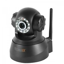 TECHNAXX IP-ÜBERWACHUNGSKAMERA TX-23 WLAN WiFi ALARMFUNKTION QR SMARTPHONE