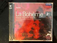 PUCCINI - LA BOHEME, Tebaldi Prandelli Erede 2CD London SEALED