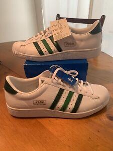 DEADSTOCK Adidas Originals Wilhelm Bungert 749920 White Forest US size 10