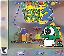Puzzle Bobble/Puzzle Bobble 2 Dual Jewel Case - PC, Good Windows 95, Pc, Windows