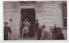 1941 VECCHIA FOTO SAVOIA GERARCHI UMBERTO I - PIEVE DI TECO IMPERIA