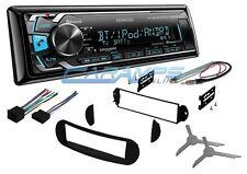 NEW KENWOOD CAR STEREO RADIO DECK W/ BLUETOOTH & SIRIUS W INSTALL KIT FOR VW BUG