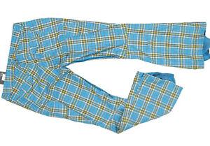 NEW $220 Burton Womens Gloria Snowboard Pants!  L  XL  Blue or Green Plaid