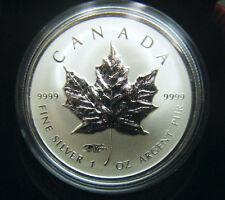 2014 Canada $5 World Money Fair Berlin WMF Privy Silver Maple Leaf Coin 1oz fine