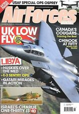 Air Forces Monthly Nov.2011 Chinook Libya Nellis AFB Hercules Chile Viper Osprey
