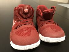 Nike Kyrie 3 TD 869984-681 Toddler Baby Shoes Size 7C Team Red Hot Punch
