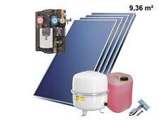 Solaranlage Komplettpaket Flachkollektoren cmk Solarpaket Bafa 10 m²
