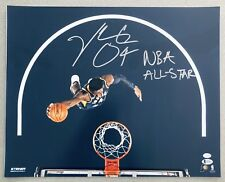"""Victor Oladipo """"NBA ALL-STAR"""" signed 16x20 Pacers autographed Steiner photo BAS"""