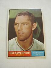 1961 Topps #55 Jim Davenport Baseball Card, Good Cond (GS2-b3)
