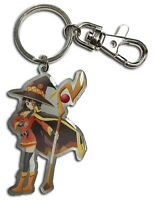 **Legit** Konosuba Authentic Anime Metal Keychain Arch Wizard SD Megumin #85347