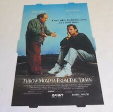 McDonalds Backlit Poster THROW MOMMA FROM THE TRAIN Danny de Vito, Billy Crystal
