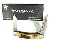 Winchester Sowbelly Stockman Knife Club Ozark STAG 3949S '91 USA + Box 2374-RX