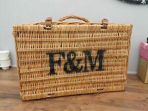 fortnum and mason wicker hamper basket (2)